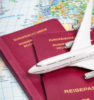 Urlaub mit Flug für 2 in Europa